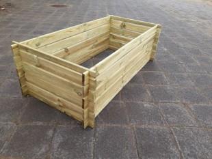 Holzkomposter Komposter Imprägniert 170 x 85 x 52 cm 19 mm