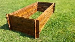 Kompostbehälter Stabiler Holzkomposter