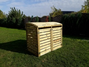 Mülltonnenbox-Paul-2 x 240-Liter-Mülltonnenverkleidung