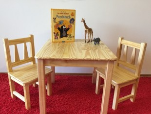 Kindersitzgruppe-1x-Kindertisch-2x-Kinderstuhl-Massivholz